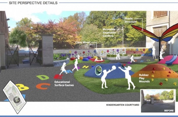 Breathing New Life Into Schoolyards Benefits Entire Communities