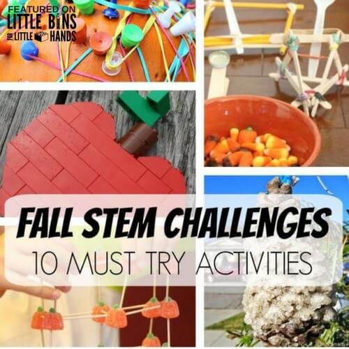 Fall Science Activities Fall And Stem Challenges For Kids!
