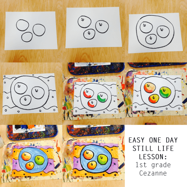 Teach And Shoot  One Day Elementary Art Lesson