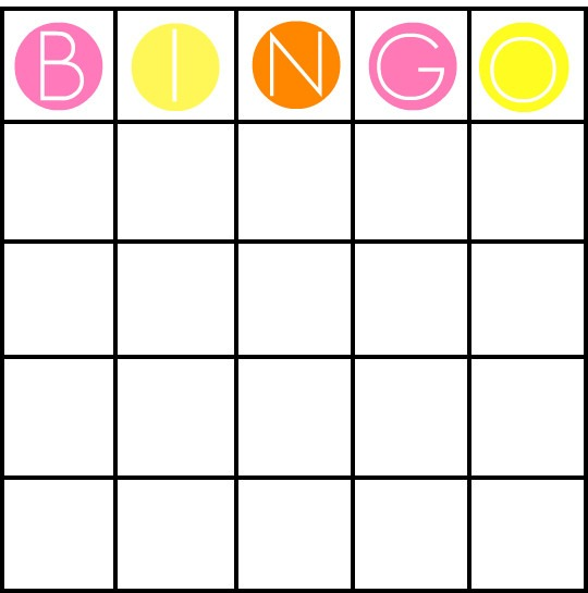 49 Printable Bingo Card Templates – Tip Junkie