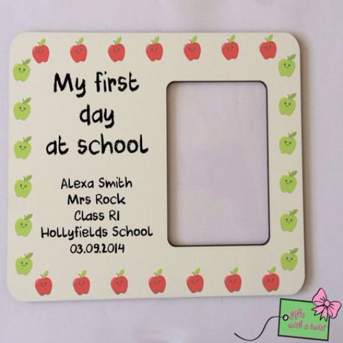 Best 50+ First Day Of School Picture Frames