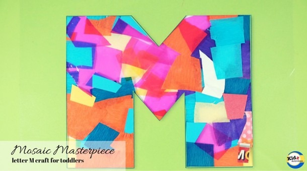 Letter M Craft For Toddlers