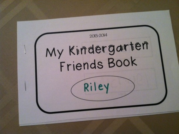 Lacy's Letters  Kindergarten Friends Book
