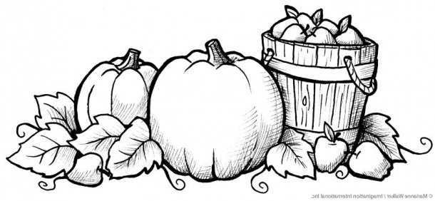 Best Coloring  Printable Fall Coloring Pages Printables Images In