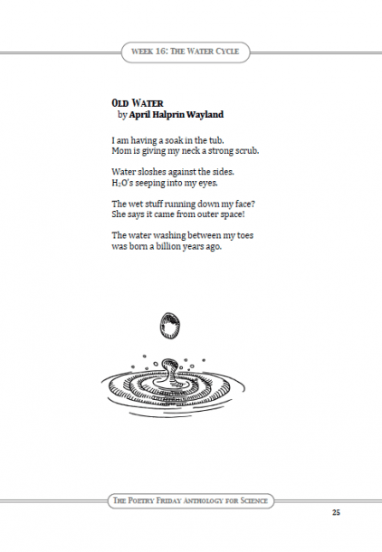 "Poetry For Children  Pfas  ""old Water"" By April Halprin Wayland"