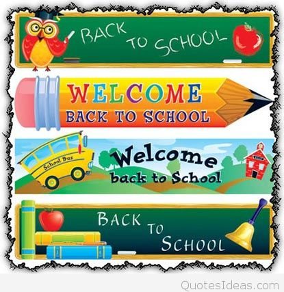 Welcome School Quotes