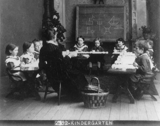 The History Of Kindergarten From Froebel To Modern Day By Scott