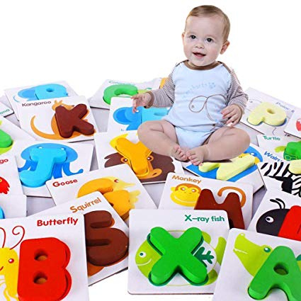Amazon Com  Ognitive Card Learn English Word Puzzle Toy Kid
