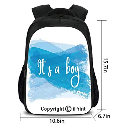 Amazon Com  School Kindergarten Backpack,its A Boy Message