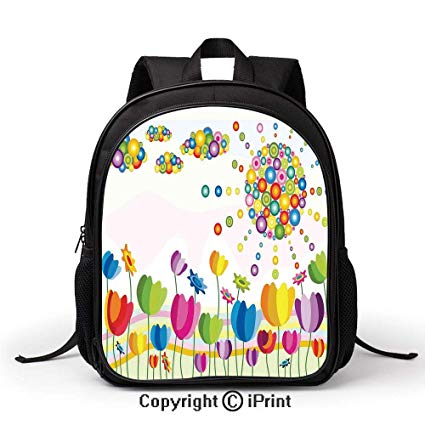 Amazon Com  School Kindergarten School Bag Abstract Illustration