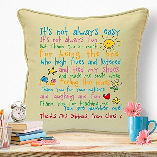 Personalised Gifts For Teachers Male Female Birthday Leaving End