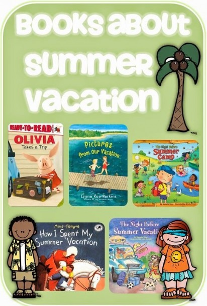 Books About Summer Vacation Clever Classroom Blog