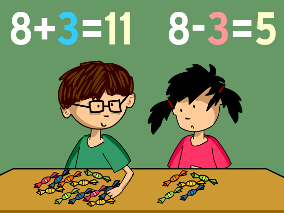 Math Subtraction Clipart For Kids