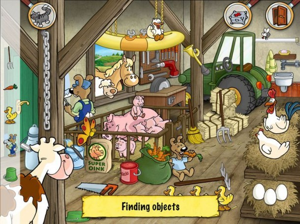 Emil & Pauline In The Country   Hidden Objects For Kindergarten