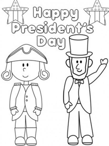Presidents Day Coloring Pages For Kindergarten