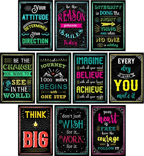 Amazon Com  Motivational Posters For Classroom & Office