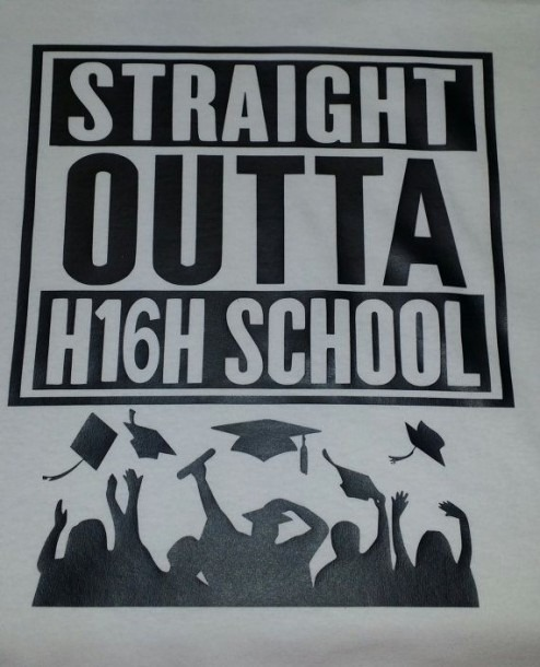 Straight Outta High School 2016 By Beautyanbling On Etsy