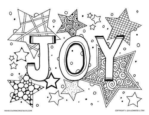 February Holiday Coloring Pages