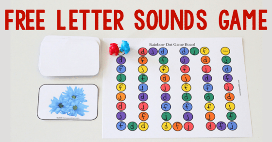 Free Letters And Sounds Game!