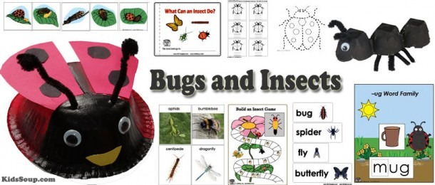 Bugs And Garden Critters Preschool Activities And Crafts