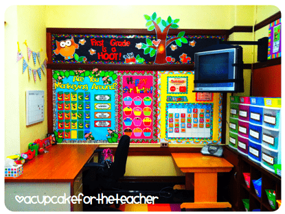 This Lady Has Tons Of Great Ideas For Her 1st Grade Classroom