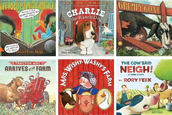 11 Awesome Farm Animal Books For Kids