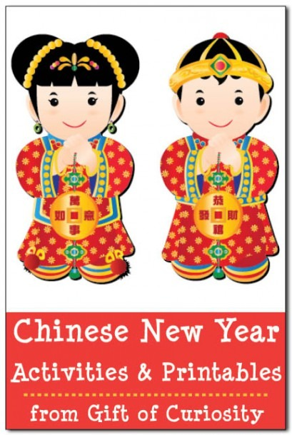 Chinese New Year Activities For Kids (including Chinese New Year
