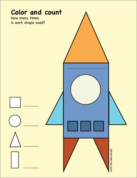 Free Triangle Shape Activity Worksheets For School Children