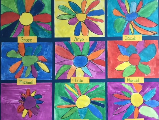 Kindergarten Art And The Loveliness Of Spring…this Week In Our