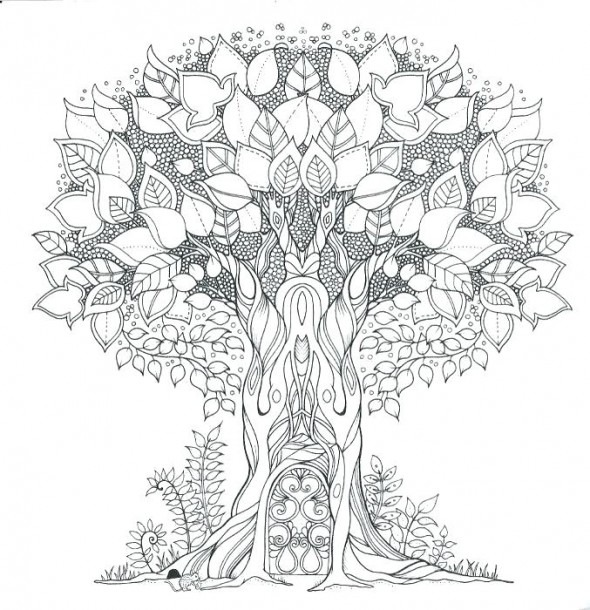 Enchanted Forest Printable Coloring Pages – Highfiveholidays Com