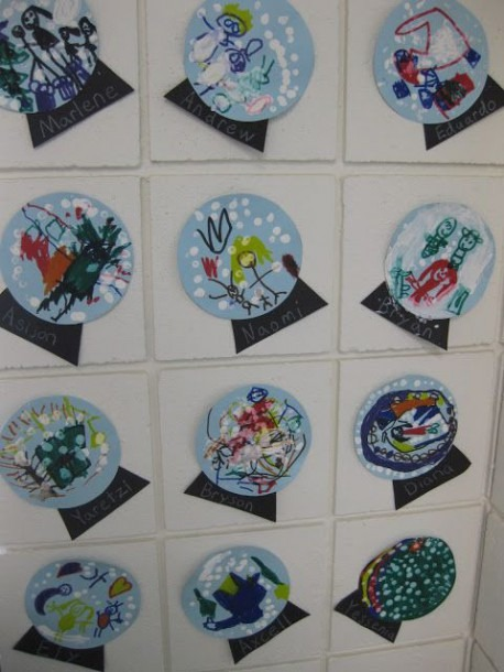 Pictures Of Kindergarten Art Projects For January