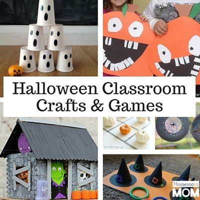 Halloween Crafts & Games For The Classroom In 2019