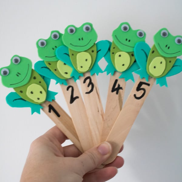 Fun Frog And Tadpole Crafts And Activities For Toddlers And