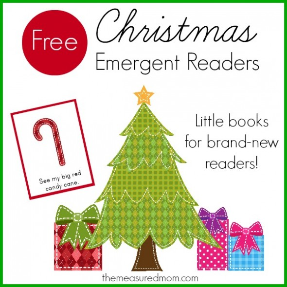 Free Christmas Emergent Readers (sight Word  Big )