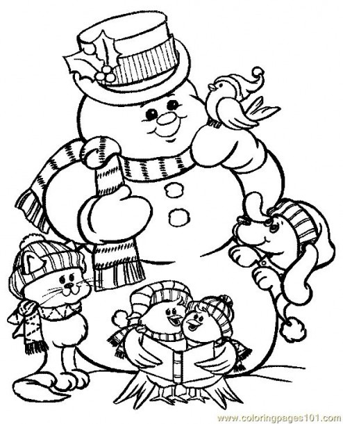 Holiday Coloring Pages Printable At Getdrawings Com