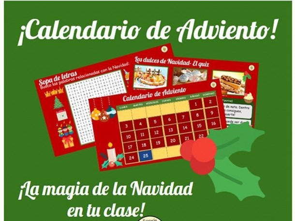 Calendario De Adviento Navidad Spanish 2019 By Sonrieinspanish