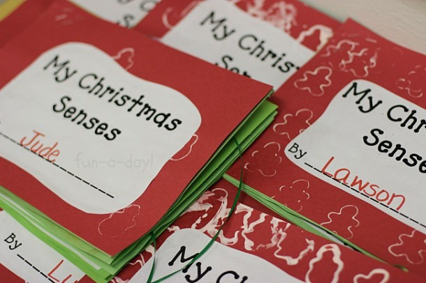 The Best Christmas Five Senses Book Free Printable