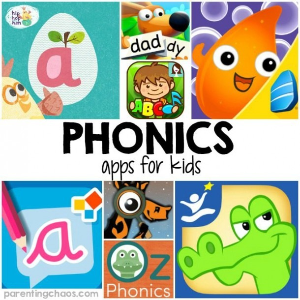 Phonics Apps For Kids ⋆ Parenting Chaos