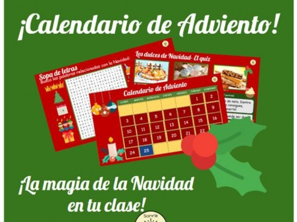 Calendario De Adviento, Advent Calendar, Navidad, Christmas, Feliz