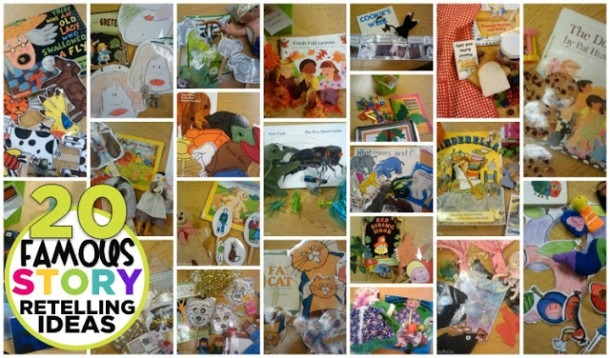 Retell Literacy Center  20 Famous Story Retelling Ideas And