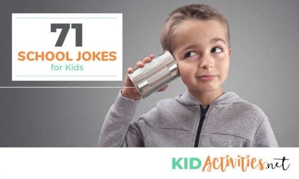 71 Clean Jokes For Kids To Tell At School