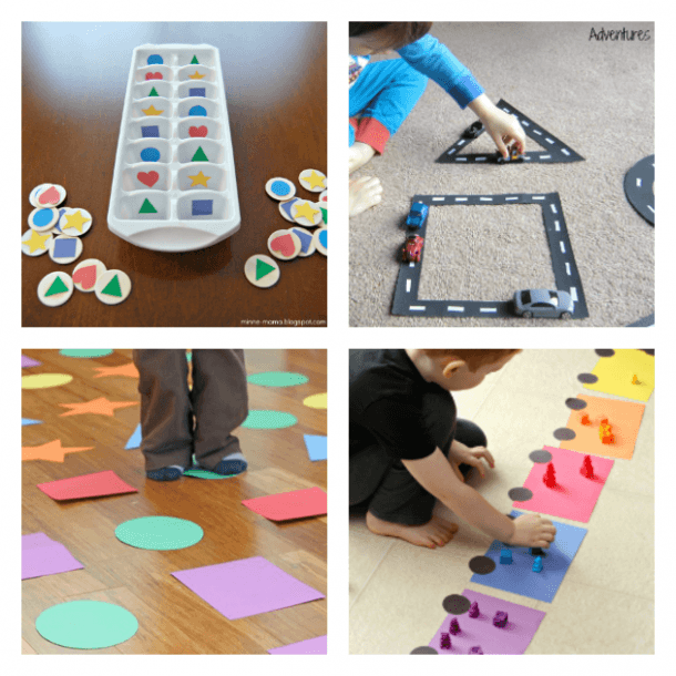 How To Teach Shape Recognition To Preschoolers With Fun Activities