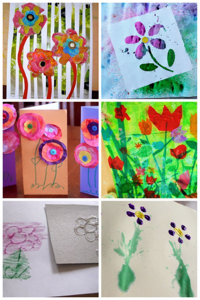 27 Colorful Spring Art Projects For Kids