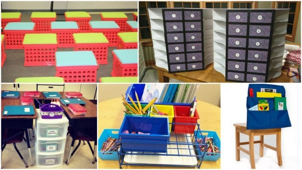Student Storage Ideas For Classroom Supplies And Equipment