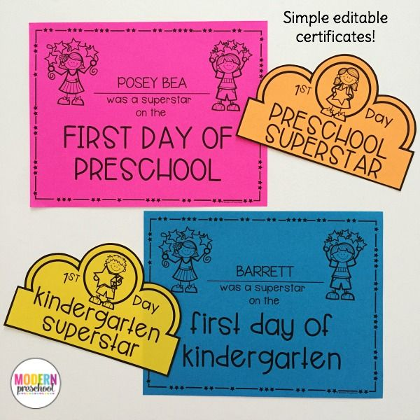 Editable Welcome To School Pack For Preschool, Pre