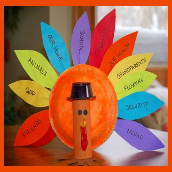 Thanksgiving Crafts For Kids Easy Preschool, Toddler & Pre
