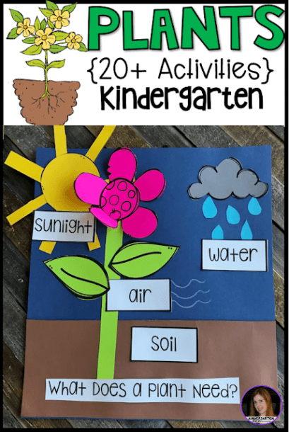 Plant Activities, Writing Crafts, Science Lessons And Centers For