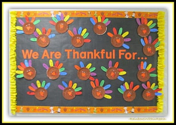 Thanksgiving Fall Bulletin Boards And Doors For School