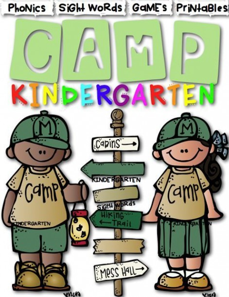 Camp Themed Classroom Clip Art Library