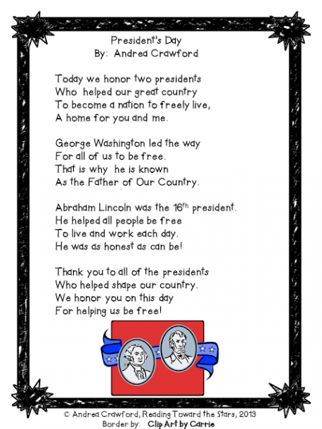 President Day Poems